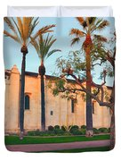 San Gabriel Mission California Duvet Cover
