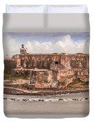 San Juan Puerto Rico Fort  Duvet Cover