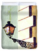 San Juan Street Lamp Duvet Cover