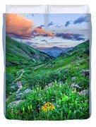 San Juan Sunset Duvet Cover