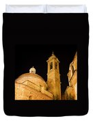 San Lorenzo Chruch Florence Italy Duvet Cover