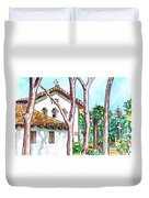 San Louis Obispo Mission Duvet Cover