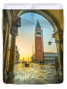 San Marco - Venice - Italy  Duvet Cover