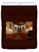 San Miguel Mission Church Duvet Cover