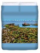 San Pablo Bay California Duvet Cover