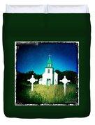 San Patricio Church IIi Duvet Cover