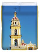 San Pedro Church Tower Duvet Cover