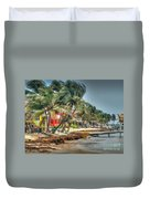 San Pedro Windy Day Duvet Cover