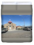 San Rafael Church Duvet Cover