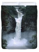 San Rafael Falls  Duvet Cover