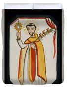 San Ramon Nonato - St. Raymond Nonnatus - Aoran Duvet Cover