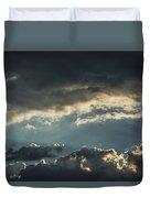 San Salvador Sunset 2 Duvet Cover