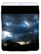 San Salvador Sunset 4 Duvet Cover