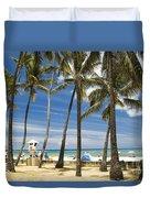 San Souci Beach Duvet Cover