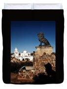 San Xavier Lions Duvet Cover