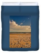 Sand And Clouds Duvet Cover