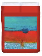 Sand And Sea IIi Duvet Cover