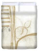 Sand And Stone 3- Contemporary Abstract Art By Linda Woods Duvet Cover