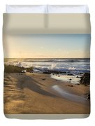 Sand And Sun Flare Duvet Cover