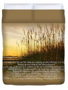 Sand And Surf Duvet Cover