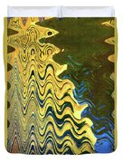 Sand At The Beach Abstract Duvet Cover