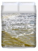 Sand Beach And Wave 4 Duvet Cover