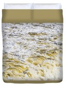 Sand Beach And Wave 5 Duvet Cover
