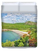 Sand Beach Duvet Cover