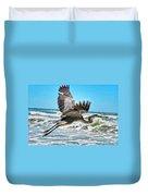 Sand Crane Duvet Cover