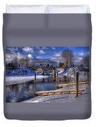 Sand Creek Winter Duvet Cover