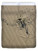 Sand Doodles Duvet Cover