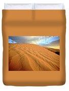 Sand Dune At Great Sand Hills In Scenic Saskatchewan Duvet Cover