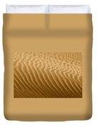 Sand Dune Mojave Desert California Duvet Cover