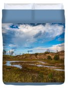 Sand Dunes In Indiana Duvet Cover
