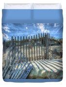 Sand Fence Duvet Cover