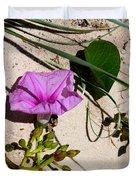 Sand Flowers Duvet Cover