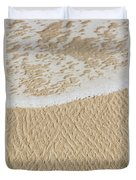 Sand Patterns Duvet Cover