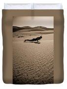 Sand Plank Duvet Cover