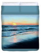 Sand Reflections Duvet Cover