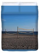 Sand Volleyball Duvet Cover