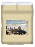 Sandcastle  Duvet Cover