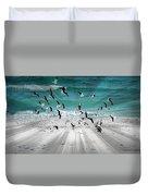 Sandestin Seagulls C Duvet Cover