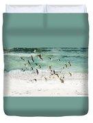 Sandestin Seagulls D Duvet Cover