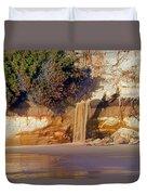Sandfall II Duvet Cover