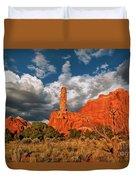 Sandpipe Formations Kodachrome Basin State Park Utah Duvet Cover
