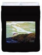 Sandpiper At Ponce Inlet Duvet Cover