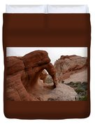 Sandstone Arches Valley Of Fire Duvet Cover