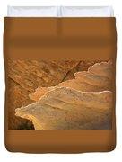 Sandstone Fins Duvet Cover