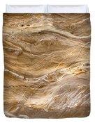 Sandstone Formation Number 3 At Starved Rock State Duvet Cover