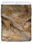 Sandstone Formation Number 4 At Starved Rock State Duvet Cover